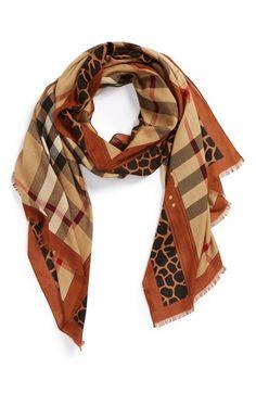 animalprint.quenalbertini: Burberry scarf
