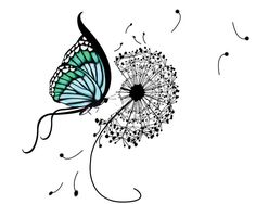9 Beautiful Dandelion Tattoo Designs
