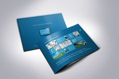 Metro horizontal Sales Brochure by The Mikinger, via Behance Behance, Templates, Website, Design, Stencils, Vorlage, Models