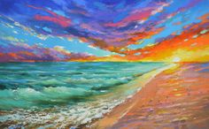 Hey, I found this really awesome Etsy listing at https://www.etsy.com/listing/497351729/sale-rustle-of-the-sea-wind-original-oil