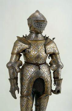 Child armour of Sigismund Augustus by Jörg Seusenhofer, 1533, Magyar Nemzeti Múzeum