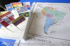 South America unit ideas with printables
