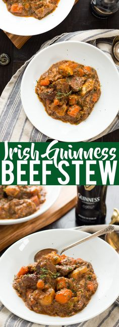 Guinness Irish Beef Stew   St. Patrick's Day Dinner   Irish Food   Beef Stew