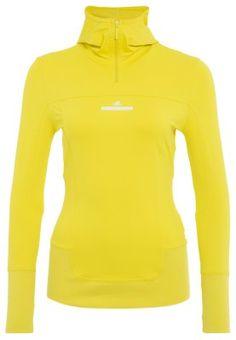 PERF HOOD - Camiseta manga larga - canary-yellow-smc S