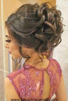 Elegante Frisur für Hochzeiten