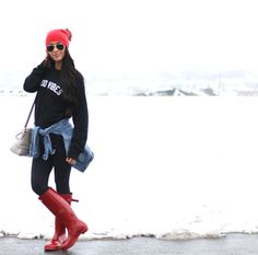 Causal Cold Weather Outfit   www.BrittanyMaddux.com