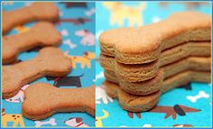 snickerpoodles -cookies for dogs 3 ingredients!