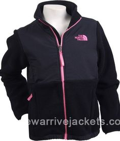 North Face Black Pink Logo Women's Denali Fleece Jacket [Women's Denali Fleece Jacket] - $95.00 : Buy Kids,Womens and Mens Jackets from Online Shop with Discount Price http://www.newarrivejackets.com