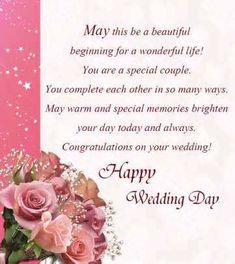 weddings greetings words
