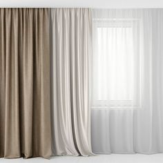 curtains and tulle model max obj mtl fbx unitypackage prefab 1 Living Room Seating, Living Room Modern, Living Room Designs, Decoration Buffet, Home Curtains, Gypsy Curtains, Tulle Curtains, Window Curtains, Living Room Decor Inspiration