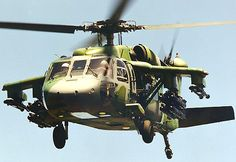 UH-60 Blackhawk armed with Hellfire and Stinger Missiles.