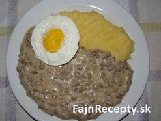 Šošovicový prívarok – Fajn Recepty Grains, Rice, Eggs, Breakfast, Food, Morning Coffee, Essen, Egg, Meals