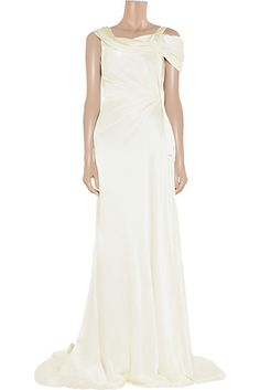 Alberta Ferretti, $2,290 at TheOutnet | 52 Wedding Dresses That Aren't Strapless