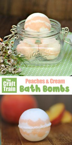 Peaches and cream diy bath bombs cool stuff красота, ванная Wine Bottle Crafts, Mason Jar Crafts, Mason Jar Diy, Diy Hanging Shelves, Floating Shelves Diy, Diy Home Decor Projects, Diy Projects To Try, Bath Bomb Ingredients, Galaxy Bath Bombs