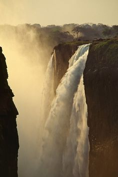 Africa |  Victoria Falls.  Karsten Wrobel, The Smoke that Thunders