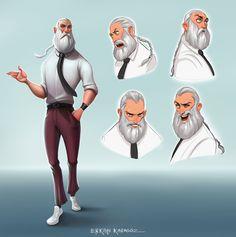 ArtStation - Character Design, Erkan Karagoez
