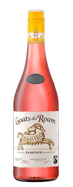 """Rosé: Not Just For Summer Sipping - the Best Rosé under $10 - Food and Wine 2016  Goats do Roam Western Cape Rosé ($9) """"A savory undertone balances the hint of sweetness in this fruit-driven rosé made with mostly Shiraz and Grenache."""""""