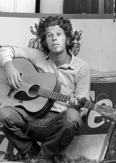 Tom Waits- LOVE his hair in this pic. Would you ever grow your hair out like this?