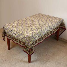 Tablecloth Rectangular 60 X 90 Spring Decor Indian Floral Cotton ShalinIndia,http://www.amazon.com/dp/B00BLI631U/ref=cm_sw_r_pi_dp_29JQsb0QC69NK9KN