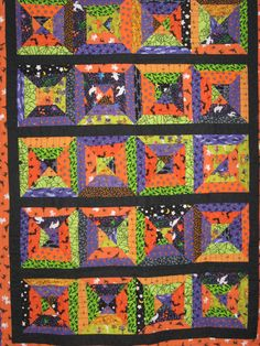Taylor's Halloween quilt