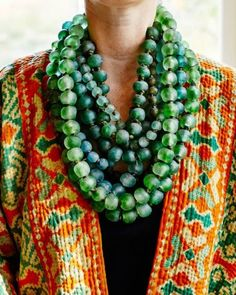 African Krobo beads, made from recycled glass. Babbles By the Brooke – A Lifestlye & Interiors Blog