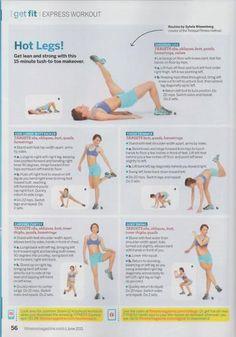 Hot Legs 15 min. workout
