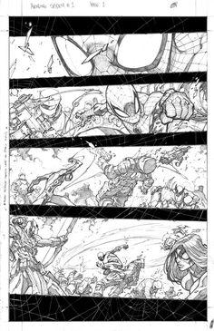 Marvel Announces Avenging Spider-Man #1 with Zeb Wells + Joe Madureira