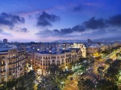 Go shopping and sightseeing along Passeig de Gràcia. Here are our 10 beautiful places you must visit in Barcelona: http://www.apartmentbarcelona.com/blog/2015/01/23/10-beautiful-places-in-barcelona/