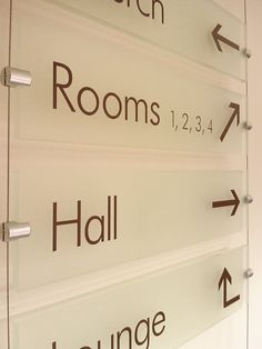 Interior Wayfinding Signs Church Pinterest Signage Sunday School Classroom And