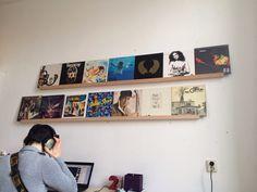 LP's aan de muur!