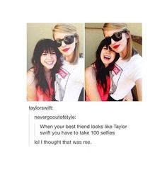 That actually is Taylor in the comment, that makes it x10 funnier.