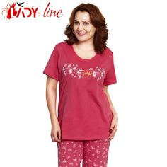 Poze Pijamale Vienetta Secret, Bumbac 100%, 'Happy & Grateful'