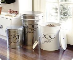 Great idea for old popcorn canisters!