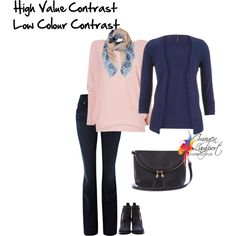 A fashion look from November 2014 featuring button down cardigan, long sleeve sweaters and blue jeans. Browse and shop related looks.