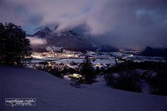 Sargans glow by Matthias Raith on 500px