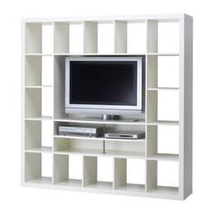 tv & shelving.