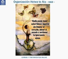 Nadie puede tener salud física y mental, sin limpiar el corazón, ubicar el pasado y perdonar la ignorancia ajena. Cursos de REIKI HEIWA TO AI (3 niveles) y de otras terapias (Chi Kung, Mindfulness,...), así como tratamientos para la ansiedad, la depresión,... INFO: http://cursoshao.blogspot.com.es/ Organización Heiwa to Ai -HAO Por un mundo pacífico y feliz Luz Blanca - terapeuta de Reiki Heiwa to Ai (HAR) -
