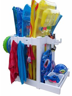 Pool Storage Ideas patio storage ideas pool noodles Find This Pin And More On Pool Ideas