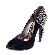 c0688133abc8 Lorissa Peeptoe Spiked Stud Heels by Sam Edelman at AKIRA