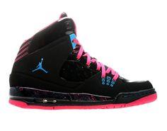 nike air max rose et brun - jordan ajf6 gs black pink 2 Air Jordan Force VI (AJF 6) GS Black ...