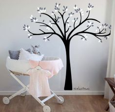 1000 images about arboles on pinterest google trees and murals - Pegar vinilo en pared ...