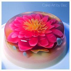 3D jelly cake.