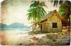 Vintage House at seaside....................................