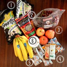 6 {Weight Watcher Friendly} Hotel Room Snacks