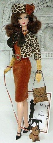 Silkstone Barbie Girl On The Go | Donnas doll designs