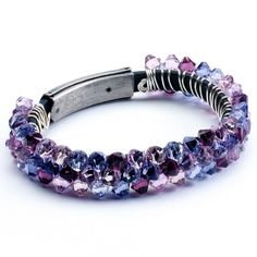 Crystal-wrapped bracelet - Jewelry Store