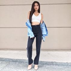 Most people stop by Southeast Asia to see the gorg Nadine Lustre Ootd, Nadine Lustre Fashion, Nadine Lustre Outfits, High Street Fashion, Fashion Outfits, Flattering Outfits, Best Photo Poses, Girl Crushes