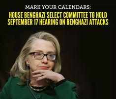 Today is the 2 year anniversary of the terrorist attack in Benghazi that cost the lives of 4 Americans.  Next week, the House GOP Select Committee on Benghazi will begin the investigation to ensure this never happens again.