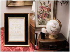 Guest Globe   Unique wedding guestbook Idea   Guestbook Inspo   Wedding decor