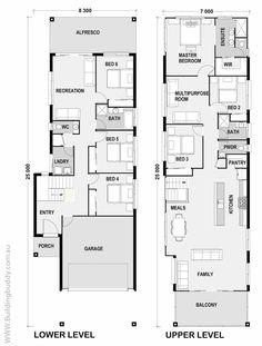 21 best small lot house floorplans images home plants house floor rh pinterest com